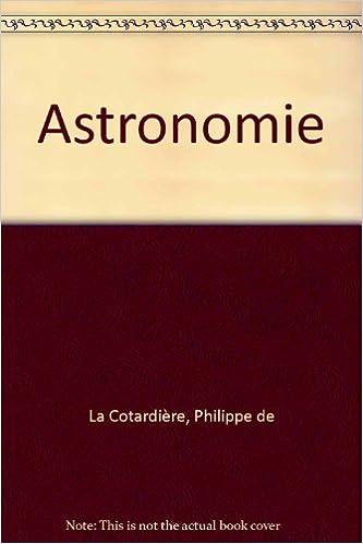 Astronomie epub pdf