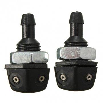 2pcs hilo 9mm limpiaparabrisas delantero universal de la boquilla del rociador: Amazon.es: Coche y moto