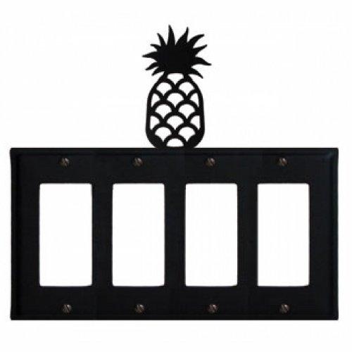 Pineapple - Quad. GFI Cover (Pineapple Gfi Cover)