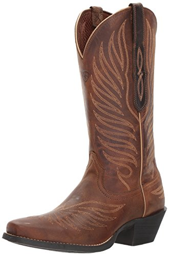 Ariat Women's Round up Phoenix Work Boot, Rodeo Tan, 11 B US by Ariat