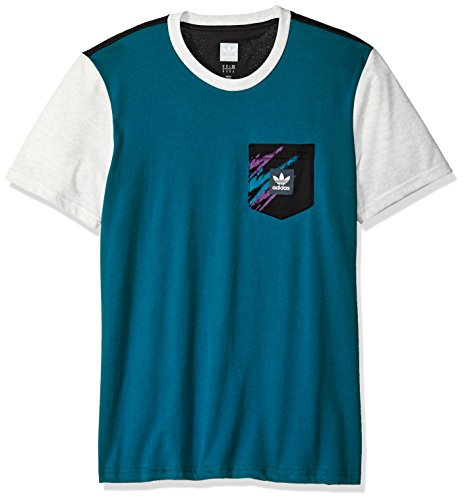 adidas Originals Mens Skateboarding Tennis Pocket Tee