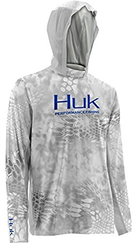 Marolina Outdoor H1200059YT1XL Huk Kryptek Icon Hoodie, Yeti/Royal, X-Large by Huk