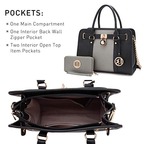 MMK collection Fashion Handbag with coin purseXL-11 Classic Women Purse Handbag