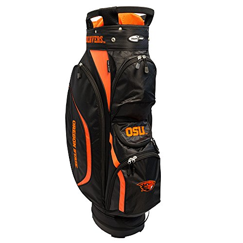 Team Golf NCAA Clubhouse Cart Bag, Oregon State by Team Golf