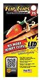 Commercial Christmas Hardware Lighting Flip Clips Plastic