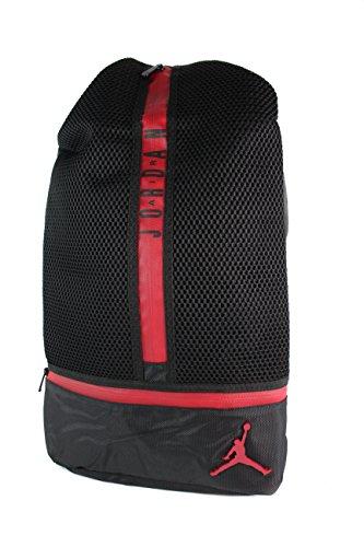 Jordan All Net Laptop Backpack (Black Gym (Jordan Red Bag) a30a97f3362b0