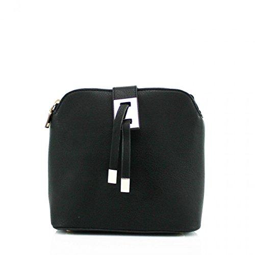 LeahWard Small Size Cross Body Bags For Women Designer Shoulder Bag Across Body Handbags For Holiday 9739 BLACK CROSS BODY