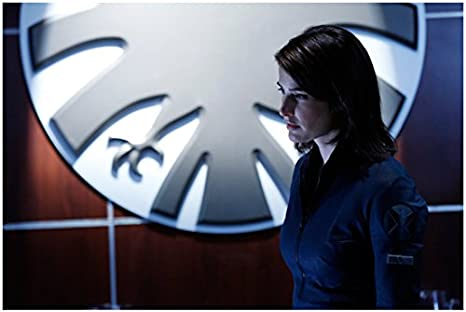 Agents Of S H I E L D Cobie Smulders As Maria Hill Close Up By Logo 8 X 10 Photo At Amazon S Entertainment Collectibles Store