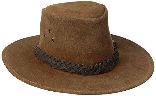 Kakadu Suede Hat - Kakadu Traders Australia Geelong Hat, Rust, Medium