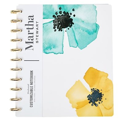 Martha Stewart Discbound Customizable Notebook, Letter-Sized (51060)