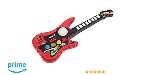 Amazon.com: Honorgens Toys Ltd. Musical Toys Electrical Guitar Toys with Preset Music with Sound and Light Educational Toy for all ages: Toys & Games