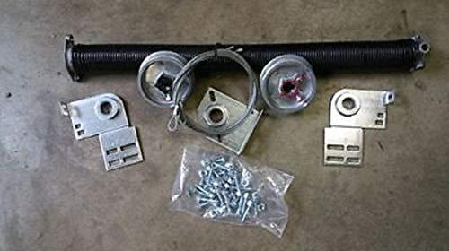 Thaisan7, Torquemaster Conversion To Torsion Spring Kit For 9100 Garage Door, Door Size: 16x8, Winding Bars:With Winding Bars