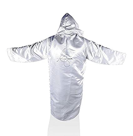 b0c0914361 Anthony Joshua Signed Boxing Robe - White Autograph - Autographed Boxing  Robes and Trunks at Amazon s Sports Collectibles Store