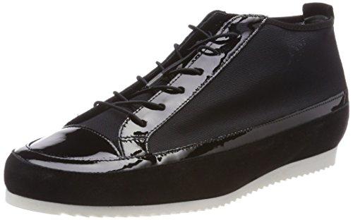 para Mujer Schwarz Högl 2316 Negro 5 10 Altas Zapatillas wBB7zqvO
