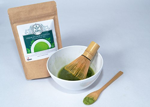Matcha Tea Ceremonial Grade Japanese Matcha Green Tea Powder Powerful Antioxidant USDA 100% Organic Rise of Energy and Supports Weight Loss and Healthy Metabolism 7 Day Sale Ends August 24, 2018