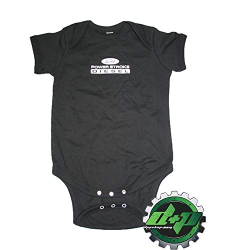 Diesel Power Plus Powerstroke Baby Infant Toddler Outfit Onezie Sleeper Cruiser 12 -