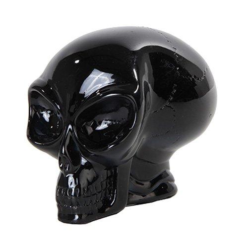 PTC Translucent Alien Skull Statue,