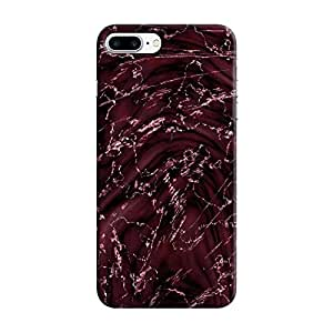 Cover It Up - Pink Veins Black Pink Whirl iPhone 7 Plus