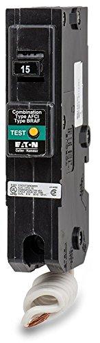 Eaton Electical / Cutler-Hamm #BR115CAF 15A SP BR1 Circular Breaker