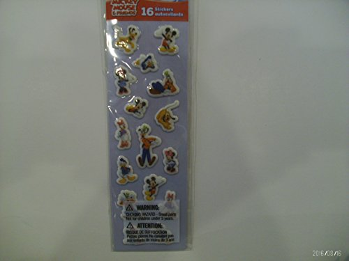 (Disney Mickey Mouse & Friends Mini Stickers 1 Sheet)