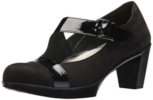 Leather And Velvet Pump - 7
