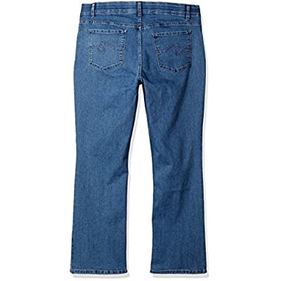 Riders by Lee Indigo Women's Plus Size Stretch No Gap Waist Bootcut Jean at Women's Jeans store