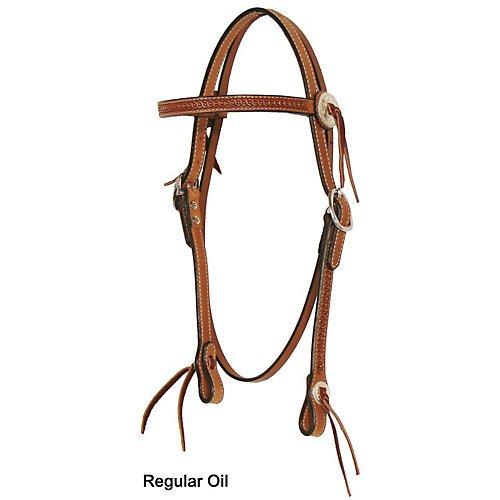 Circle Y Pioneer Browband Headstall Reg Oil