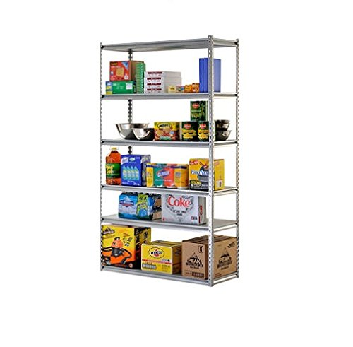 Review Muscle Rack 6-Shelf Storage Rack By Sam's Club by Sam's Club