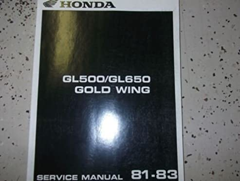 1983 honda silver wing silverwing gl500 650 service shop repair rh amazon com 04 Honda Silver Wing 2009 Honda Silver Wing 650