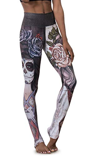EAGLE ROCK WERKSHOP Athletic Performance Leggings/Yoga Pants - Athleisure Wear for Women - Sugar -
