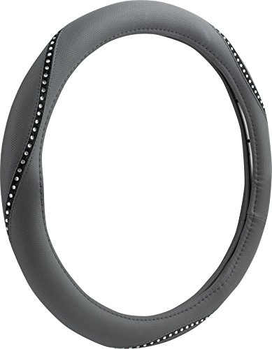 Custom 38466P Black Bling Steering