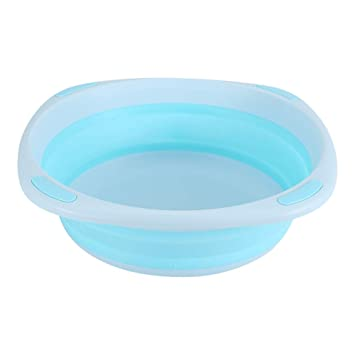 Green Infant Folding Bathtub Portable Collapsible Nonslip Space-Saving Baby Care Washbasin Wash Basin Tub Children Infant Shower Accessory