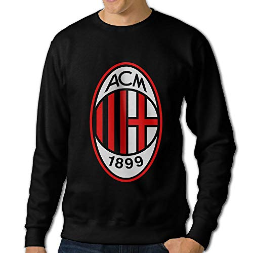 AC Milan Soccer Man Crewneck Long Sleeve Fashion Sweatshirts
