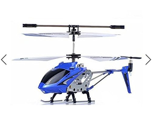 [Original Syma S107 S107G 3CH Infrared RC Helicopter GYRO (Blue) by toyforyoustore] (Diy Incredibles Costume)