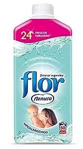Flor Nenuco - Suavizante para la ropa concentrado - Hipoalergénico - 1035 ml