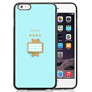 New Fashionable Designed For iPhone 6 Plus 5.5 Inch Phone Case With FIFA World Cup Uruguay Phone Case Cover