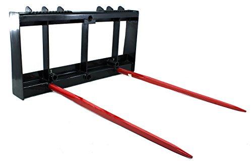 Skid Steer Bale Spear - Titan Skid Steer Frame & 2 49