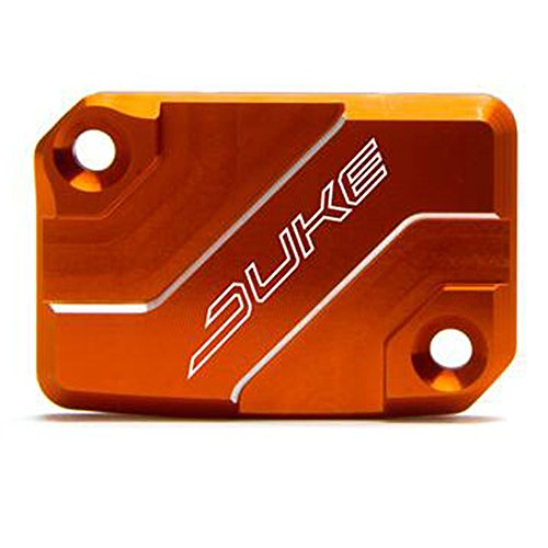 Orange Accessories CNC Front brake Master Cylinder Cover Fluid For KTM DUKE 125 2013-2016 DUKE 200 2013-2016 DUKE 390 2013-2018 DUKE 250 2016-2017 RC125 2013-2016 RC200 2013-2017 RC390 2014-2017