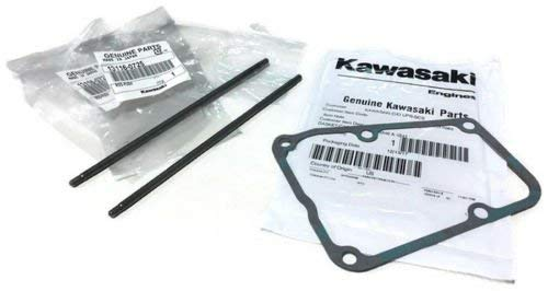 Lawnmowers Parts 2 (Two) Kawasaki Push Rods 13116-0725 & Cover Gasket 11061-7083 Fits FR691 FS651-730 FX730