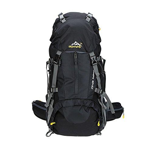 Lixada 45L+5L Wasserdichte Trekking Rucksack mit Regen Abdeckung
