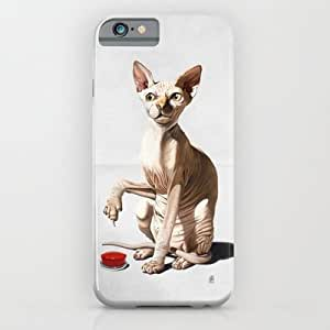 Society6 - Cat-astrophe (wordless) iPhone 6 Case by Rob Snow