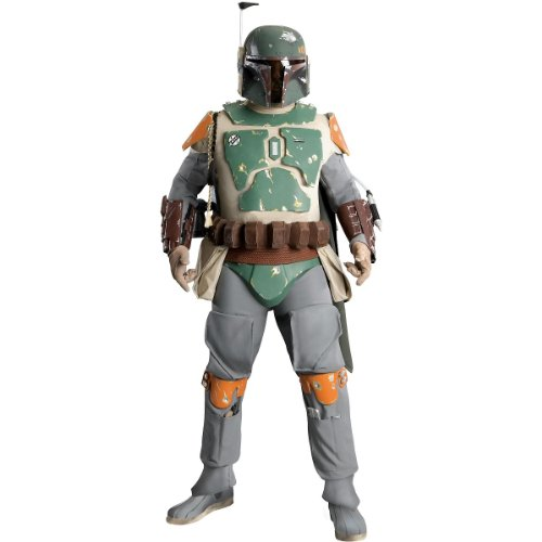 Boba Fett Gauntlets (Supreme Edition Boba Fett Adult Costume - X-Large)