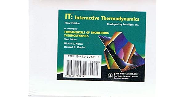 Interactive thermodynamics software for mac