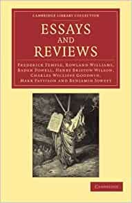 essays and reviews jowett Theological essays of the late benjamin jowett this edition of jowett's theological essays theological essays of the late benjamin jowett.