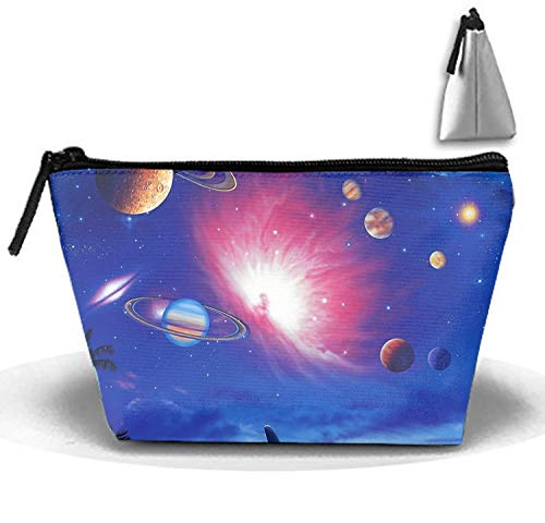 Dolphins Chasing Planets Toiletry Kit for Men and Women Multifunction -