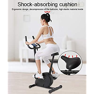 GAYBJ Unisex's Exercise Bike Upright Exercise Bike Indoor Studio Cycles Exercise Pedal Bike Aerobic Training Fitness Cardio BIK: Home & Kitchen