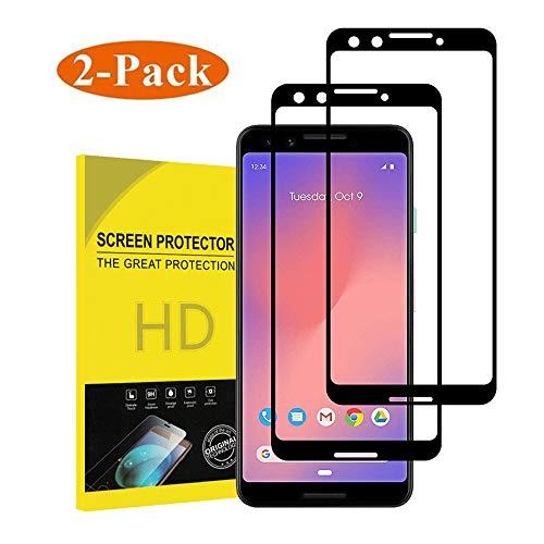 for Google Pixel3 Screen Protector[2PACK],Penacase[Case Friendly][Anti-Scratch][Anti-Fingerprint][Anti-Bubble] Screen Protector for Google Pixel 3