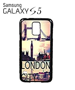 London City Big Ben Tower Brigde Mobile Cell Phone Case Samsung Galaxy S5 White