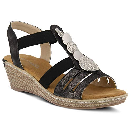 - PATRIZIA Women's Shprinza Slide Sandal Black