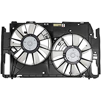 TYC 621190 Toyota Prius Replacement Radiator//Condenser Cooling Fan Assembly